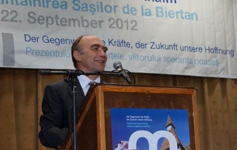 Dr. Christoph Bergner, Aussiedlerbeauftragter und Staatssekretär im Bundesinnenministerium, übermittelte die Grüße der deutschen Regierung.