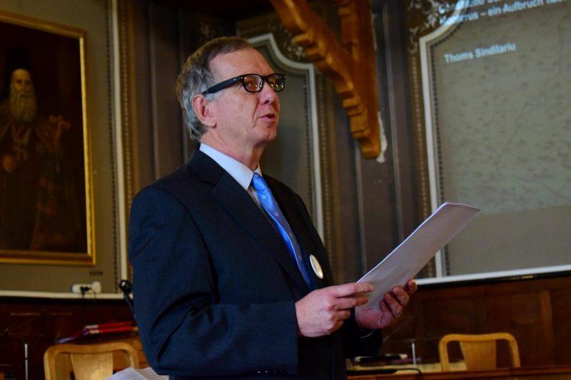 Gerold Hermann, ehemaliger Leiter der Brukenthalschule