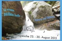 9. Singwoche in Seligstadt